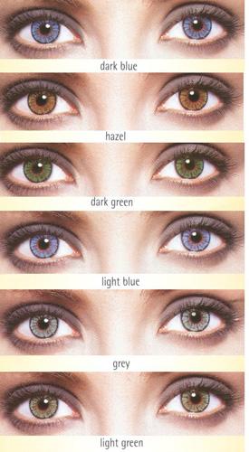 renkli lensler, göz renkleri, lens kataloğu