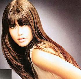 uzun saç kesim şekilleri, uzun saç kesimleri