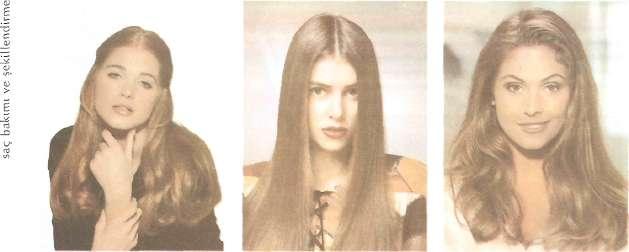 Uzun saçlar için daha gösterişli öneriler