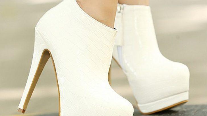 Bu Sıradışı ve Şık Gelinlik Ayakkabılarına Bayılacaksınız!