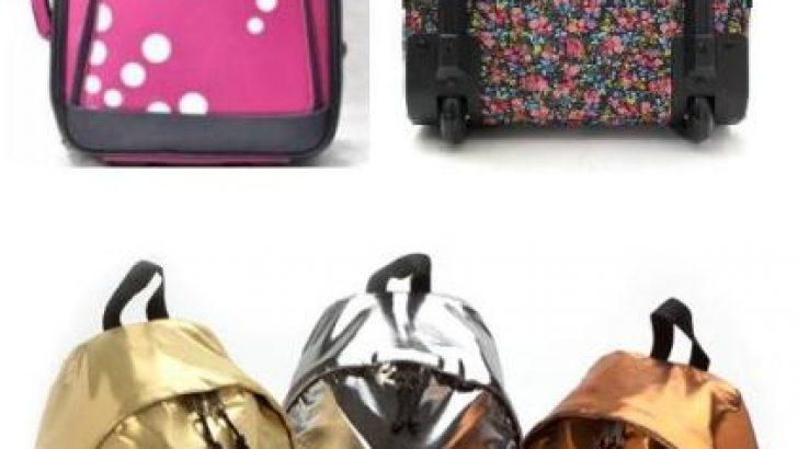 Çekçekli Eastpak Valiz ve Sırt Çantası Modelleri