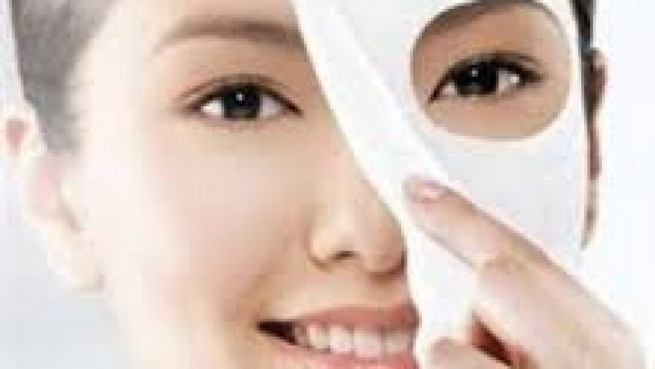 Cilt beyazlatmak için pirinç maskesi