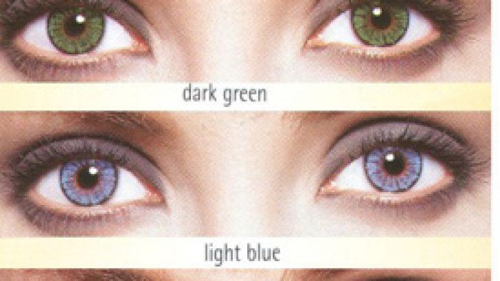Renkli Bakışlara Lensler