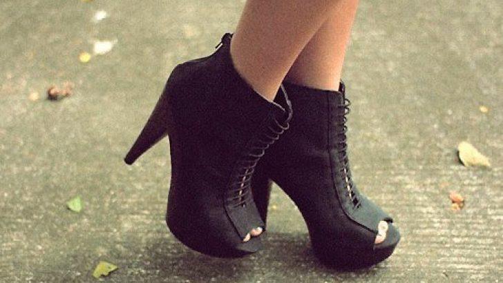 En son Moda Platform Topuklu Ayakkabılar