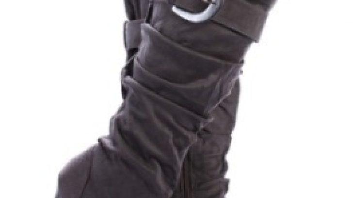 Yeni Tend Topuklu Bayan Çizme Modelleri