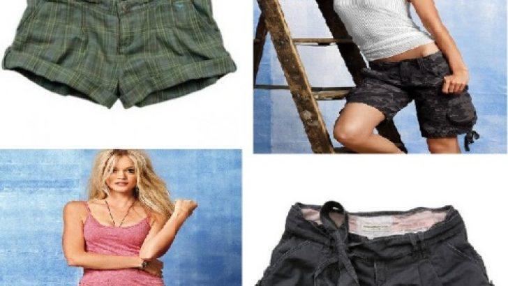 Farklı Tarzda Trend Şort Modelleri