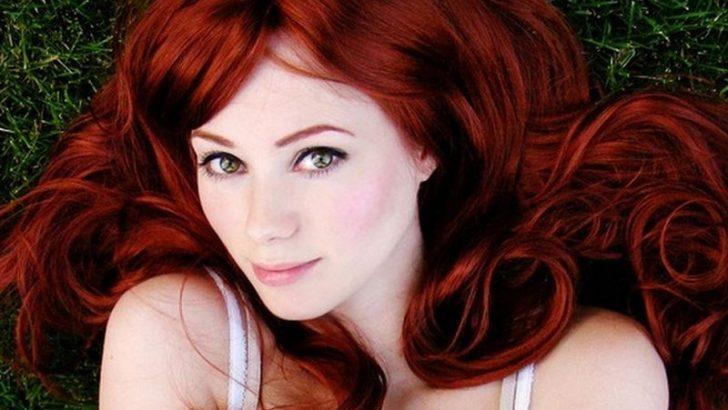 Soğuk Ten İçin Kızıl Tonda Saç Rengi