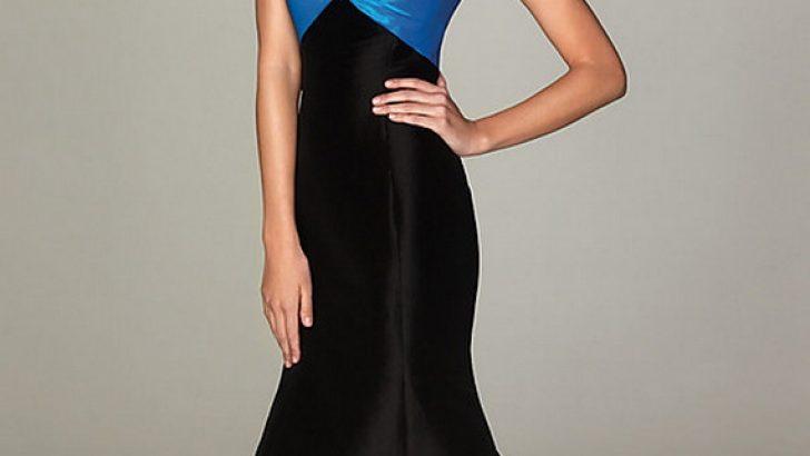 Yeni Trend Siyah Gece Elbiseleri