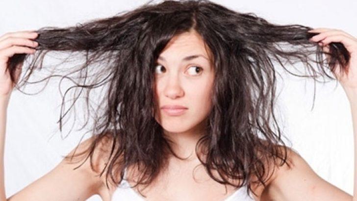 Yıpranmış Saçlara Bitkisel Çözüm