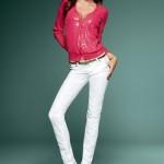 dar paça beyaz keten pantolon örnekleri