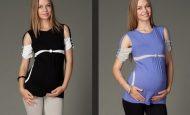 Trend Farklı Hamile T-Shirt Modelleri
