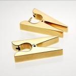 farklı mandal şekilli altın küpe örnekleri