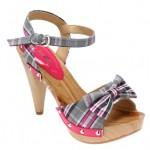 flo fiyonklu topuklu sandalet modelleri
