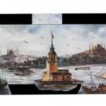 istanbul manzaralı tablo örnekleri