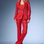 kırmızı bol paça kumaş pantolon çeşitleri