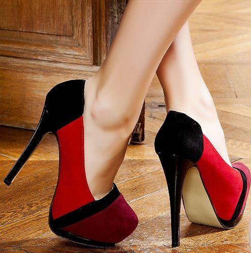 Platform Topuklu Ayakkabı Tasarımları