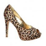 leopar desenli platform topuklu ayakkabı örnekleri