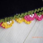 renkli çiçekli oya modelleri örnekleri