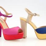renkli topuklu ayakkabı örnekleri