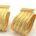 trabzon hasırı altın küpe modelleri