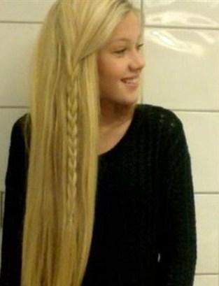 Saç örgüsü modelleri trend düz saç örgüsü örnekleri