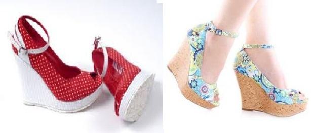 yeni trend dolgu topuk ayakkabılar